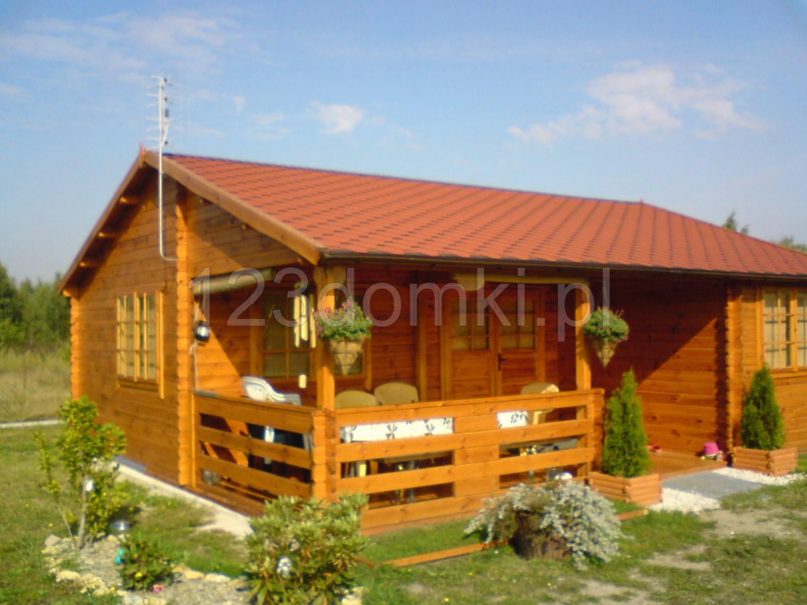 Całoroczny drewniany domek letniskowy  - Producent