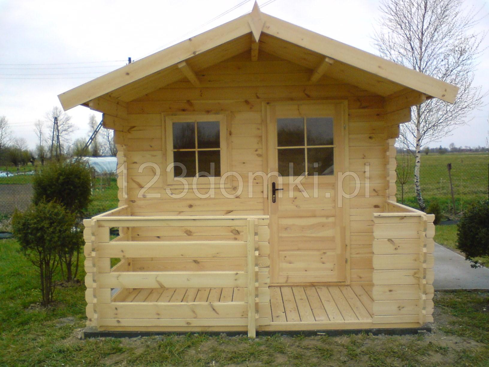 Domek Ogrodowy 33 Z Tarasem Producent Domów I Domków