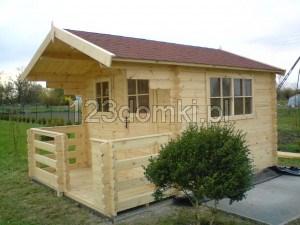 domek ogrodowy 3x3