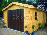 Garaż z drewna