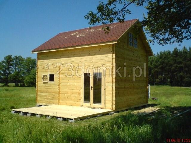 Dom 30m2 + 30m2 z poddaszem (piętrowy)