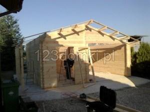 Garaż drewniay 02