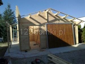 Garaż drewniay 04