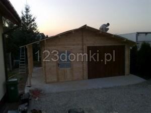 Garaż drewniay 12