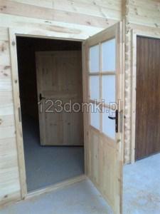 Garaż drewniay 13