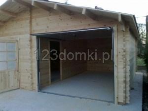 Garaż drewniay 14