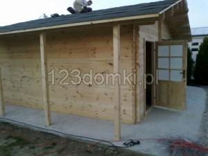 Garaż drewniay 16