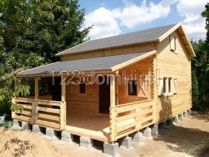 domek drewniany Mazowieckie-65