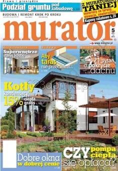 Garaże dreniane - prasa o nas MURATOR 5/2012